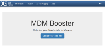 Oberfläche MDM-Booster